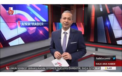 ÖSÖB-DER HALK TV'de..